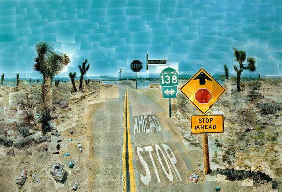 Pearblossom Highway - David Hockney