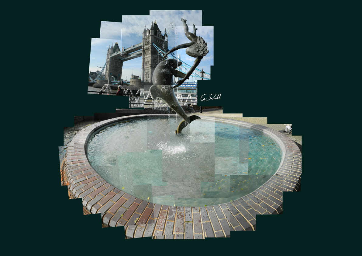 Fountain - Tower Bridge WP